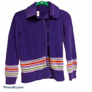 Gymboree Purple Cardigan Sweater